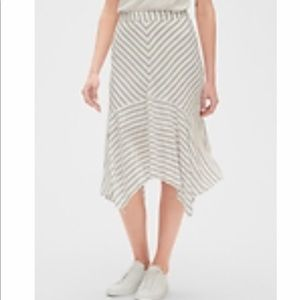 GAP striped handkerchief skirt